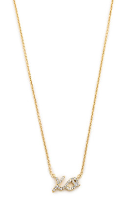 Kate Spade New York Xo Necklace - Clear