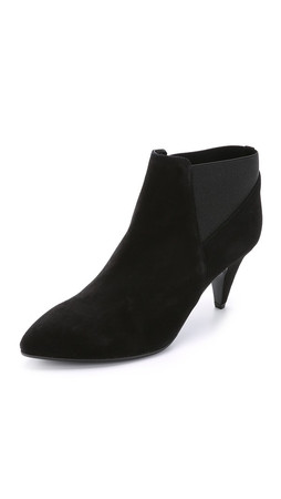 Kate Spade New York Yana Suede Booties - Black