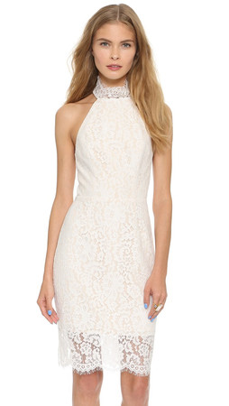 Keepsake One Night Lace Dress - Ivory