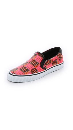 Kenzo Love Slip On Sneakers - Rose Begonia