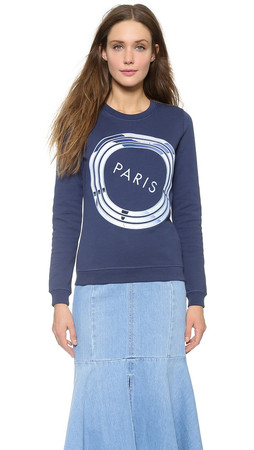 Kenzo Paris Sweatshirt - Deep Sea Blue