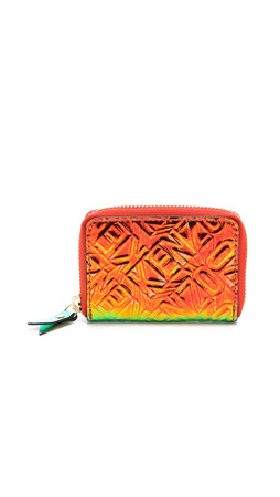 Kenzo Small Zip Around Wallet - Citron