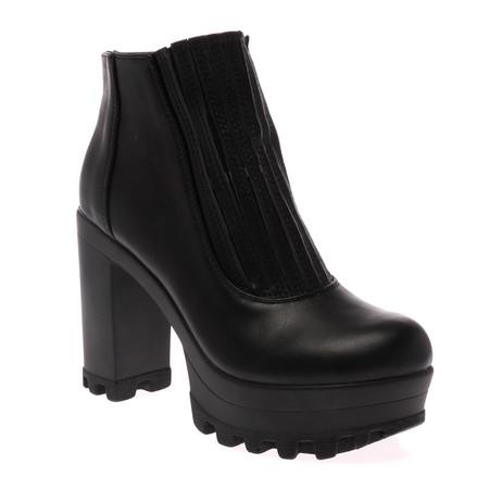 Kori Black Ankle Boots