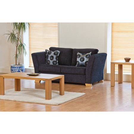 Kyoto Futons Ardley 2 Seater Sofa Bed - louisa chocolate