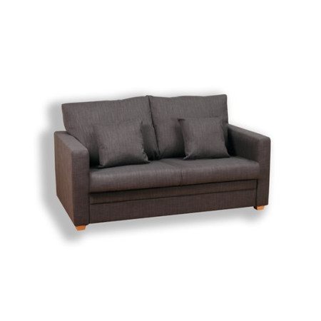 Kyoto Futons Marlow 2 Seater Sofa Bed - victoria chocolate