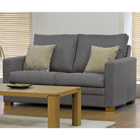 Kyoto Futons Stamford 2 Seater Sofa in Grey