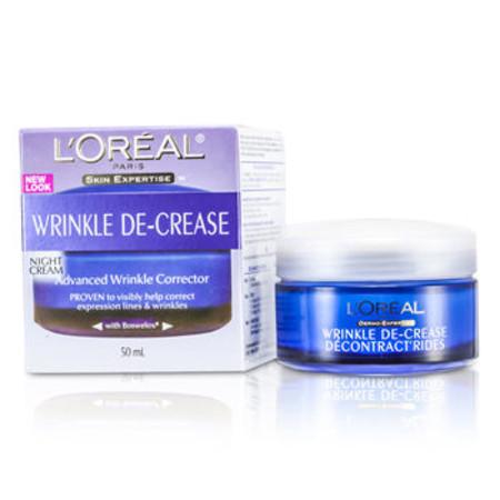 L`Oreal Skin Expertise Wrinkle De-Crease Advanced Wrinkle Corrector Night Cream 50ml/1.7oz