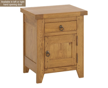 LPD Hastings 1 Drawer Bedside Cabinet