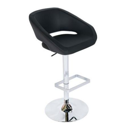 Lanway PVC Bar Chair Black