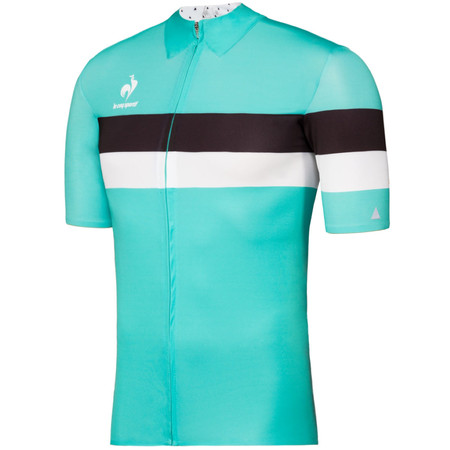 Le Coq Sportif Ares Short Sleeve Jersey - Extra Large Pool Green