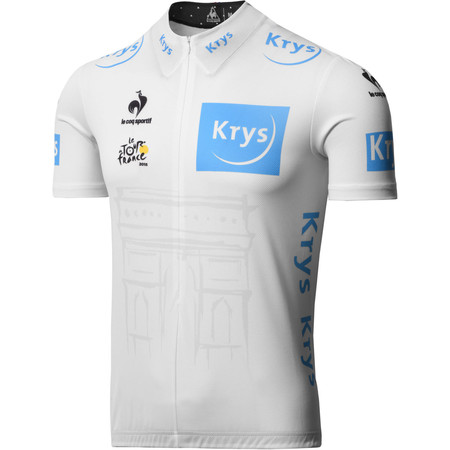 Le Coq Sportif TDF Replica Young Riders White Jersey - Large White