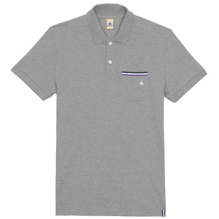 Le Coq Sportif Tricolores Pavot Short Sleeve Polo - Extra Large | Tees