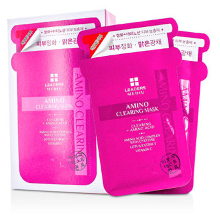 Leaders Mediu Amino Mask - Clearing - All Skin Types 10x25ml/0.85oz