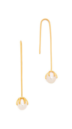 Lizzie Fortunato Eclipse Earrings - Gold/Pearl