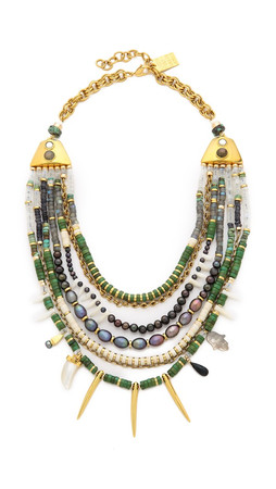 Lizzie Fortunato Turquoise And Riad Necklace - Blue/Green
