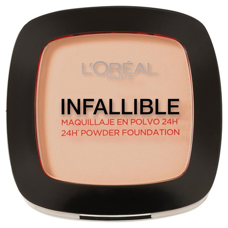Loreal Paris Infallible 24hr Powder Foundation #123 Warm Vanilla 9g