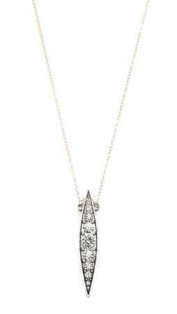 Lulu Frost Datura Pendant Necklace - Clear/Gold