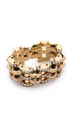 Lulu Frost Veratrum Bracelet - Clear/Gold