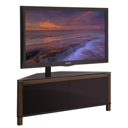 MDA Designs Apus AV TV Cabinet in Walnut Trim up to 42 inch