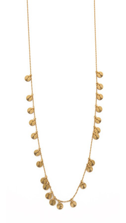 Madewell Dala Layering Necklace - Vintage Gold