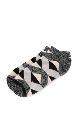 Madewell Diamond Ankle Socks - True Black