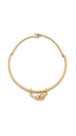 Madewell Joyce Dot Necklace - Vintage Gold