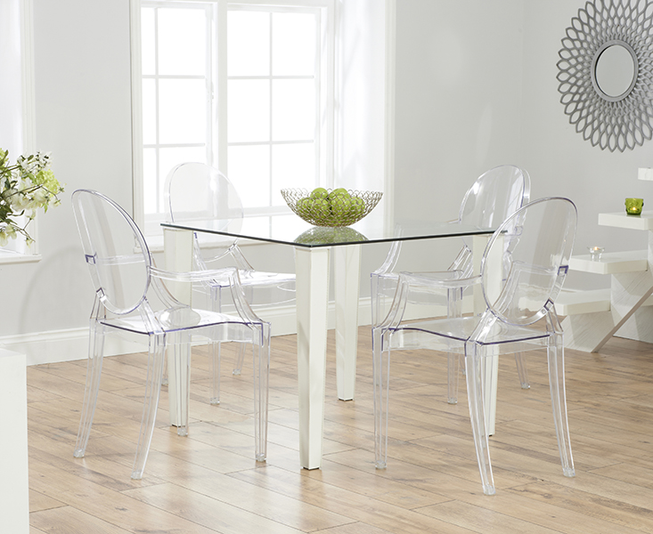 Clear Plastic Dining Room Chairs