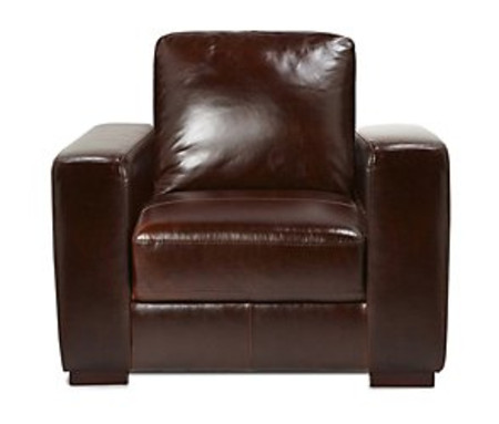 Madison leather armchair