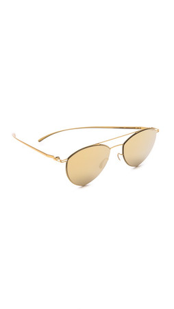 Maison Margiela Mykita + Maison Margiela Essential Sunglasses - Gold
