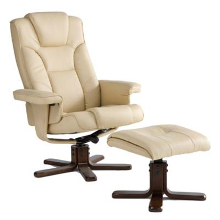 Malmo Recliner Chair - Cream