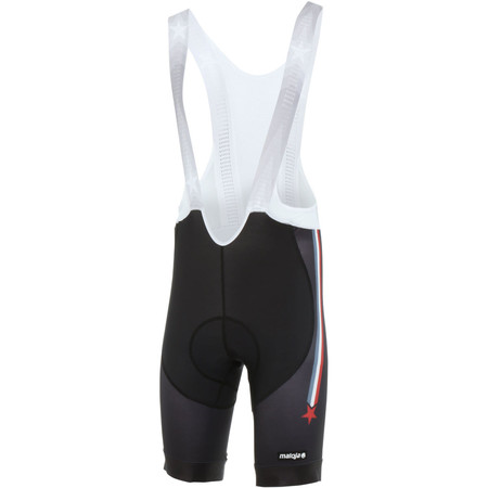 Maloja HercliM. Bike Pants 1/2 - Small Moonless | Lycra Cycling Shorts