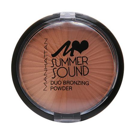 Manhattan Duo Bronzing Summer Sound Pressed Powder