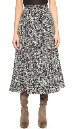 Mara Hoffman Jacquard Flare Skirt - Strata