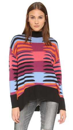 Mara Hoffman Knit Pullover - Connector Pink