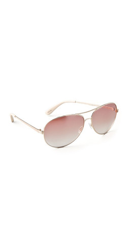 Marc By Marc Jacobs Aviator Sunglasses - Gold