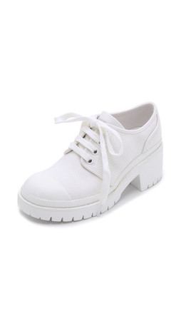 Marc By Marc Jacobs Bond Lace Up Sneakers - Talc