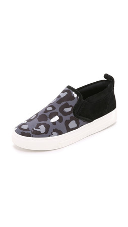 Marc By Marc Jacobs Broome Slip On Sneakers - Elephant Grey Multi