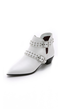 Marc By Marc Jacobs Carroll Booties - White