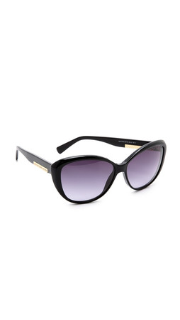 Marc By Marc Jacobs Classic Cat Eye Sunglasses - Black/Grey Gradient