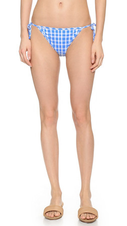 Marc By Marc Jacobs Clem Side Tie Bikini Bottoms - Conch Blue Multi