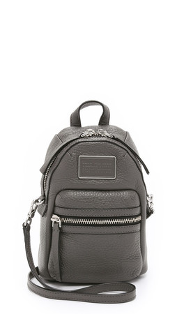 Marc By Marc Jacobs Domo Biker Bag - Faded Aluminum