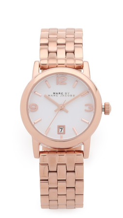 Marc By Marc Jacobs Farrow Watch - Rose Gold
