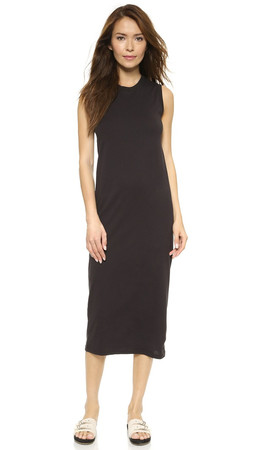 Marc By Marc Jacobs Favorite Tee Tank Dress - Black