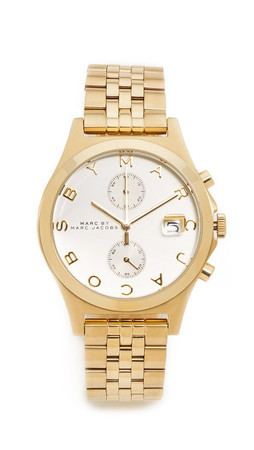 Marc By Marc Jacobs Ferus Chronograph Watch - Gold