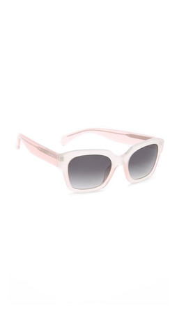 Marc By Marc Jacobs Gradient Sunglasses - Opal Rose/Grey Gradient