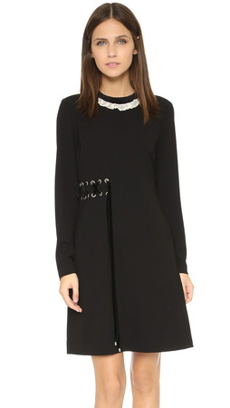 Marc By Marc Jacobs Irving Dress - Black Multi
