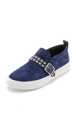 Marc By Marc Jacobs Kenmare Studded Low Slip On Sneakers - Ink