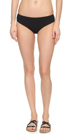 Marc By Marc Jacobs Lexi Cheeky Bikini Bottoms - Black