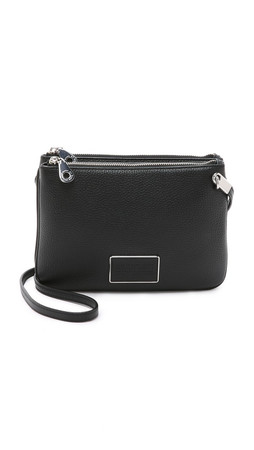 Marc By Marc Jacobs Ligero Double Percy Cross Body Bag - Black