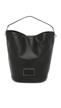 Marc By Marc Jacobs Ligero Large Bucket Bag - Black
